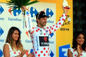 """""""Now I am officially the biggest climber in the Tour de France.""""  -Jens Voigt"""