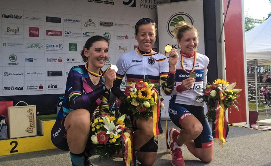 First Endurance Rider Successfully Defends German National Championship