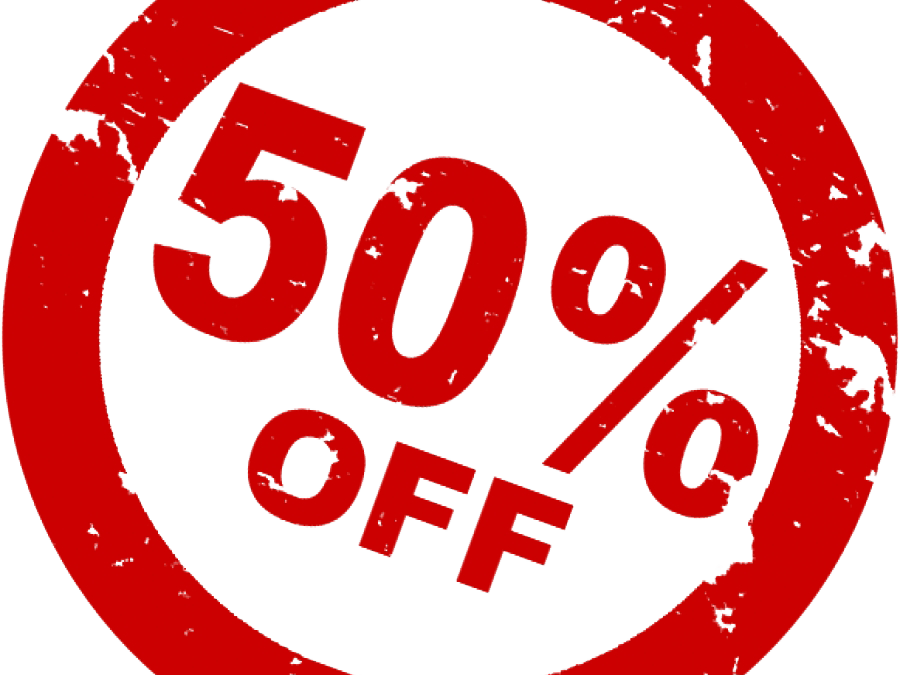 5 Days Of Screaming Deals – 50% Off